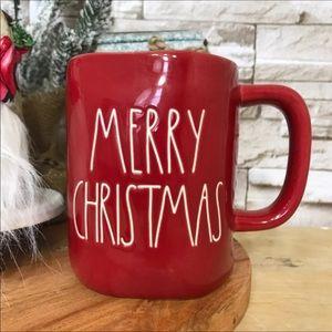 Rae Dunn Merry Christmas Red Mug